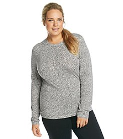 Cuddl Duds® Softwear with Stretch Plus Size Crewneck Top