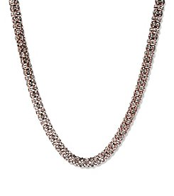 Anne Klein® Rose Goldtone Necklace