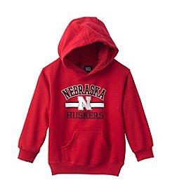 adidas® Boys' 4-7 NCAA Nebraska Hoodie