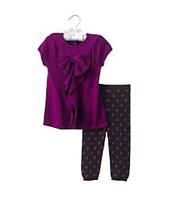 Cuddle Bear® Baby Girls' Tunic and Leggings Set