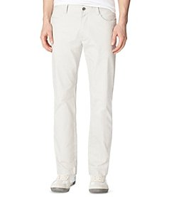 Calvin Klein Men's Steam 5-Pocket Sateen Casual Pants
