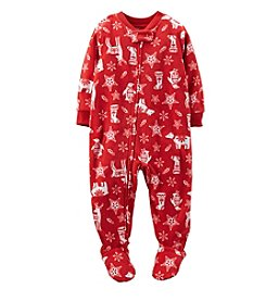 Carter's® Boys' 12M-4T Christmas Print Blanket Sleeper