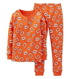 Carter's® Boys' 12M-4T 2-pc. Teeth Print Pajama Set