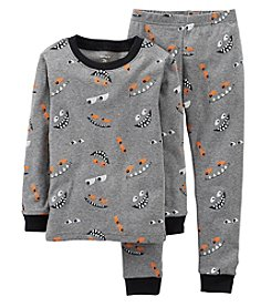 Carter's® Boys' 12M-7 2-pc. Eye Print Pajama Set