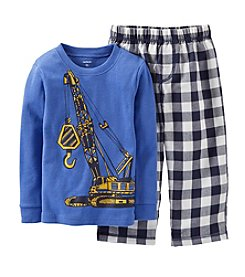 Carter's® Baby Boys' 2-pc. Construction Print Pajama Set