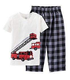Carter's® Baby Boys' Fire Truck Pajama Set