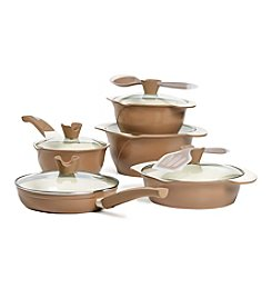 Anna Boiardi® 12-pc. Tuscan Harvest Cast Aluminum Cookware Set