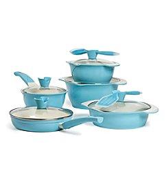 Anna Boiardi® 12-pc. Verona Sky Cast Aluminum Cookware Set