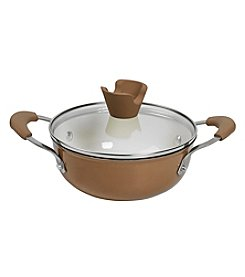 Anna Boiardi® Tuscan Harvest Cast Iron Enamel Covered Casserole