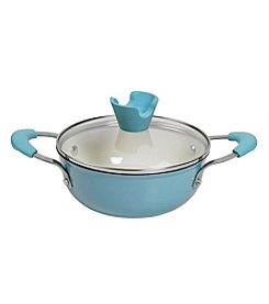 Anna Boiardi® Verona Sky Cast Iron Enamel Covered Casserole