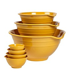 Basic Essentials 7-pc. Yellow Melamine Bowl Set