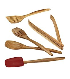 Rachael Ray® Cucina Tools 5-pc. Red Wooden Tool Set