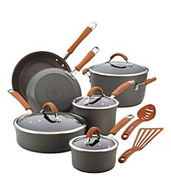 Rachael Ray® Cucina 12-pc. Orange Hard-Anodized Nonstick Cookware Set