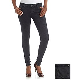 Celebrity Pink Soft Touch Rayon Acid Wash Skinny