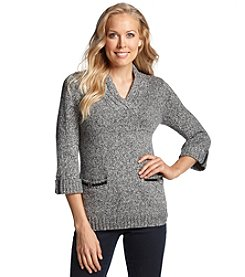 Studio Works® 3/4-Sleeve V-Neck Sweater