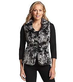 Laura Ashley® Faux Fur Vest