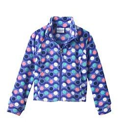 Columbia Girls' 2T-16 Benton Springs™ Multi Polka Dot Print Fleece