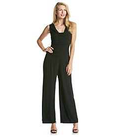 R&M Richards® Ruched Jumpsuit