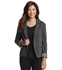Notations® Petites' Ponte Knit Jacket