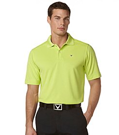 Callaway® Men's Big & Tall Short Sleeve Poly Polo Shirt