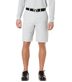 Callaway® Men's Flat Front Microfiber Tech Shorts