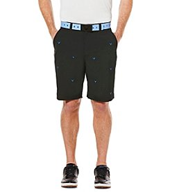 Callaway® Men's Big & Tall Embroidered Chino Shorts