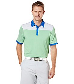 Callaway® Men's Big & Tall Striped Color Block Polo
