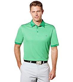 Callaway® Men's Big & Tall Industrial Jacquard Polo