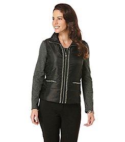 Rafaella® Petites' Chain Detail Vest