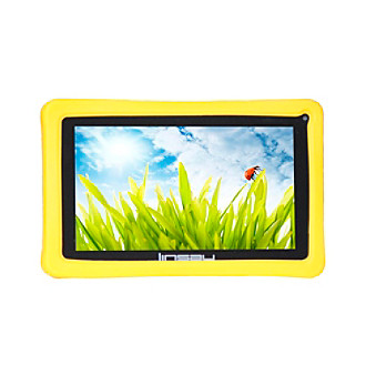 Linsay 7-Inch Kids Funny Tab 1024x600 HD QUADCORE 8GB Android 4.4 Kit Kat with Safety Kids Defender Case