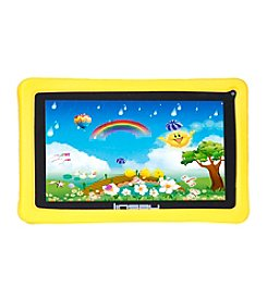 Linsay 7'' QUAD CORE 8GB Dual Cam Android 4.4 Tablet with Kids Defender Case