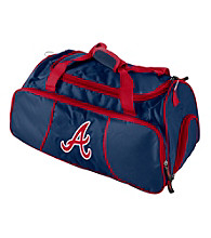 Atlanta Braves Logo Chair Athletic Duffel