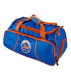 New York Mets Logo Chair Athletic Duffel