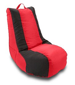Ace Bayou Black Stripe Video Bean Bag Chair