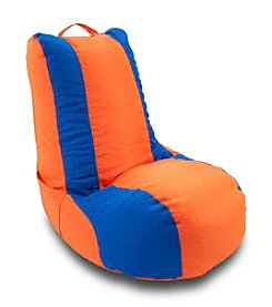 Ace Bayou Blue Stripe Video Bean Bag Chair