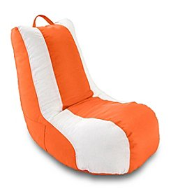 Ace Bayou White Stripe Video Bean Bag Chair