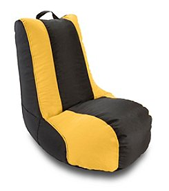 Ace Bayou Gold Stripe Video Bean Bag Chair