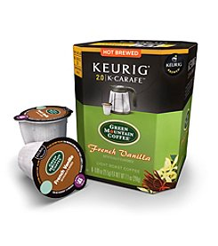 Keurig® 2.0 Green Mountain Coffee French Vanilla Coffee 8-pk.K-Carafe Packs