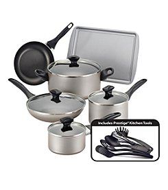 Farberware® 15-pc. Champagne Nonstick Cookware Set
