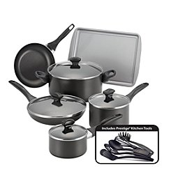 Farberware® 15-pc. Black Nonstick Cookware Set
