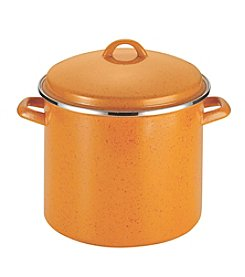 Paula Deen® Signature 12-qt. Orange Enamel on Steel Covered Stockpot