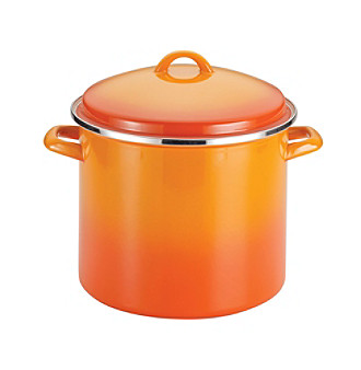 Rachael Ray® 12-qt. Orange Enamel on Steel Covered Stock