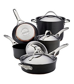 Anolon® Nouvelle 9-pc. Copper Hard Anodized Nonstick Cookware Set
