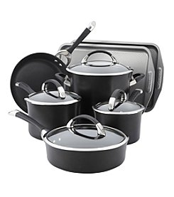 Circulon® Symmetry 9-pc. Hard-Anodized Nonstick Cookware Set with Bakeware