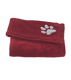 John Bartlett Pet Cabernet Micro Cozy Throw
