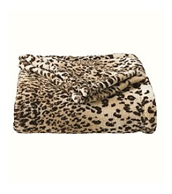 John Bartlett Pet Leopard Micro Cozy Throw