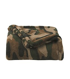 John Bartlett Pet Camo Micro Cozy Throw