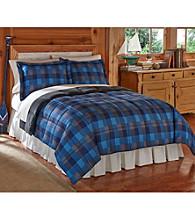 Ruff Hewn Blue Alpine Cozy Down-Alternative Comforter or Shams