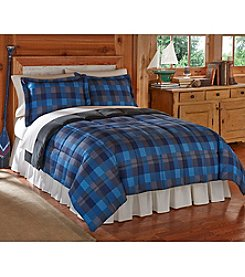 Ruff Hewn Blue Alpine Cozy Down-Alternative Comforter or Shams
