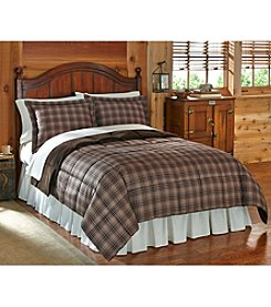 Ruff Hewn Brown Alpine Cozy Down-Alternative Comforter or Shams